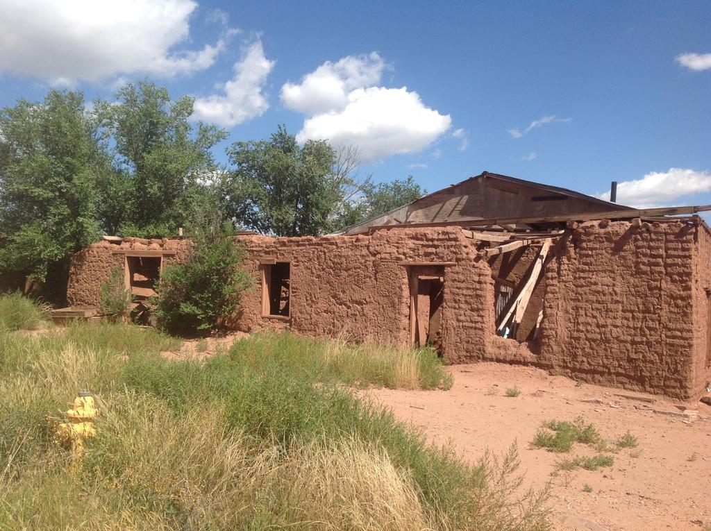 This historic district has numerous buildings from the Santa Fe Trail period, but few are still in use. [source](https://en.wikipedia.org/wiki/San_Miguel_del_Vado#/media/File:San_Miguel_del_Vado_NM.JPG)